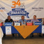 Rueda de Prensa 34 Medio Maratón Ciudad de Mexicali 2015.