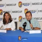 Rueda de Prensa «Hagamos Algo en el Verano» IMDECUF 2015
