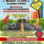 Paseo Ciclista Bomberos Voluntarios de Mexicali. (18/09/2016)