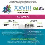 XXVIII Carrera Atlètica CANACO. (04/12/2016)