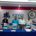 Rueda de Prensa XXVIII Carrera Atlética Canaco 2016.