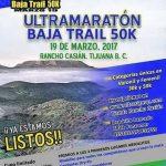 Ultramaraton Baja Trail 50 K. 19/03/2017 (Tijuana)