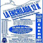 VII Carrera Atlètica La Enchilada 12 K. 29/01/2017 (Tijuana)