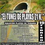 "1er. Medio Maratòn ""El Tunel de Playas 21K"" 19/02/2017 (Tijuana)"