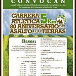 Carrera Atlètica 80 Aniversario del Asalto a las Tierras 5 Km. (22/01/2017)