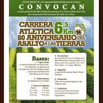 Carrera Atlètica 80 Aniversario del Asalto a las Tierras 6.5 Km. (25/01/2017)