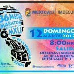 Nueva Ruta 36 Medio Maraton Ciudad de Mexicali 2017.