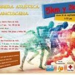 III Carrera Atlética Franciscana 5 y 2 Km.(30/09/2017)