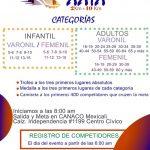 XXIX Carrera Atlética CANACO 10 y 2 Km. (03/12/2017)