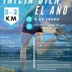 1ra. Carrera 2018 Inicia Bien El Año. 5 y 2 Km.