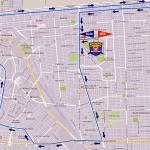 Ruta Maratón Gobernador 2017.