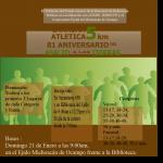 Carrera Atlética 81 Aniversario del Asalto a las Tierras 5Km. (21/01/2018)