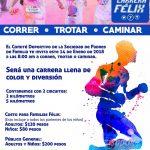 Carrera de Color Félix de Jesús Rougier 5 y 2 Km. (14/01/2018)