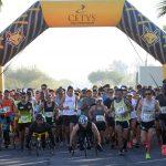 Récord de asistencia en Medio Maratón y 10K Cetys.