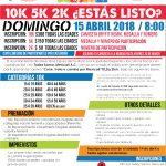 Corre, Trota o Camina por Mexicali 10K, 5K y 2K.(15/04/2018)