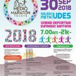 Medio Maratón Tecate. (30/09/2018)