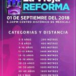 "Carrera La Milla ""Vieja Reforma"". (01/09/18)"
