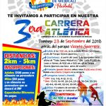 3ra. Carrera Atlética Bomberos Voluntarios de Mexicali. (23/09/2018)