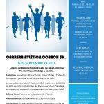 Carrera Atlética Cobach 5K. (06/09/2018)