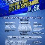 5ta. Gran Carrera Sudor Cachanilla. (09/09/2018)