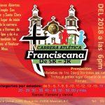 Carrera Atlética Franciscana 5K y 2K. (29/09/2018)