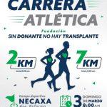 1ra. Carrera Atlética Fundación Sin Donante no hay Trasplante. (03/03/2019)