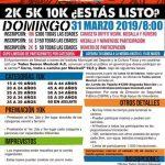 Corre, Trota o Camina por Mexicali. (31/03/2019)