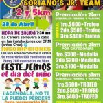 6ta. Carrera Atlética Soriano's Jr Team.(28/04/2019)