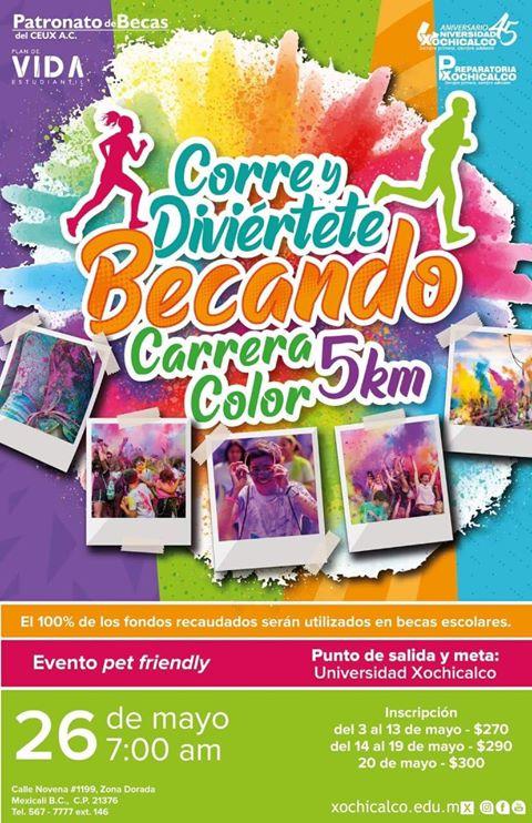 Carrera de Color Xochicalco. (26/05/2019)