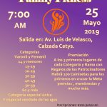 1ra. Carrera Atlética Family Fitness. (25/05/2019)
