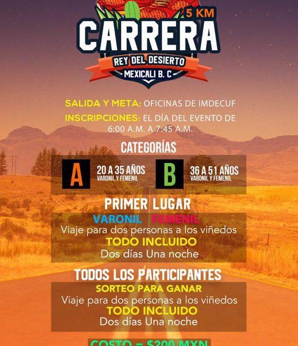 Carrera Rey del Desierto 5K. (05/10/2019)