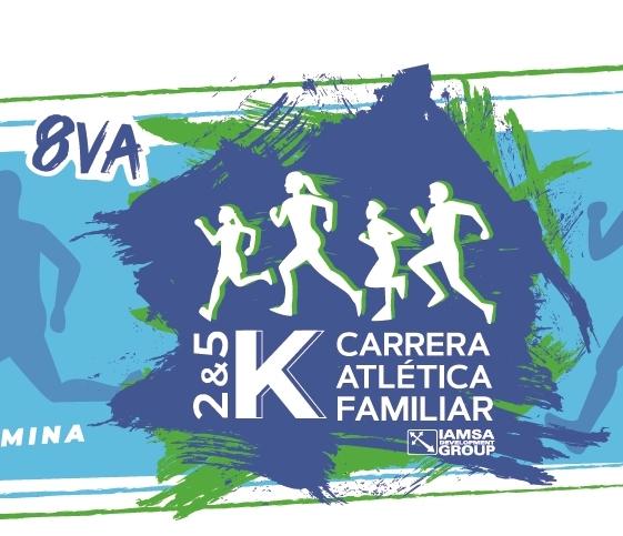 8va. Carrera Atlética Familiar IAMSA. (26/10/2019)