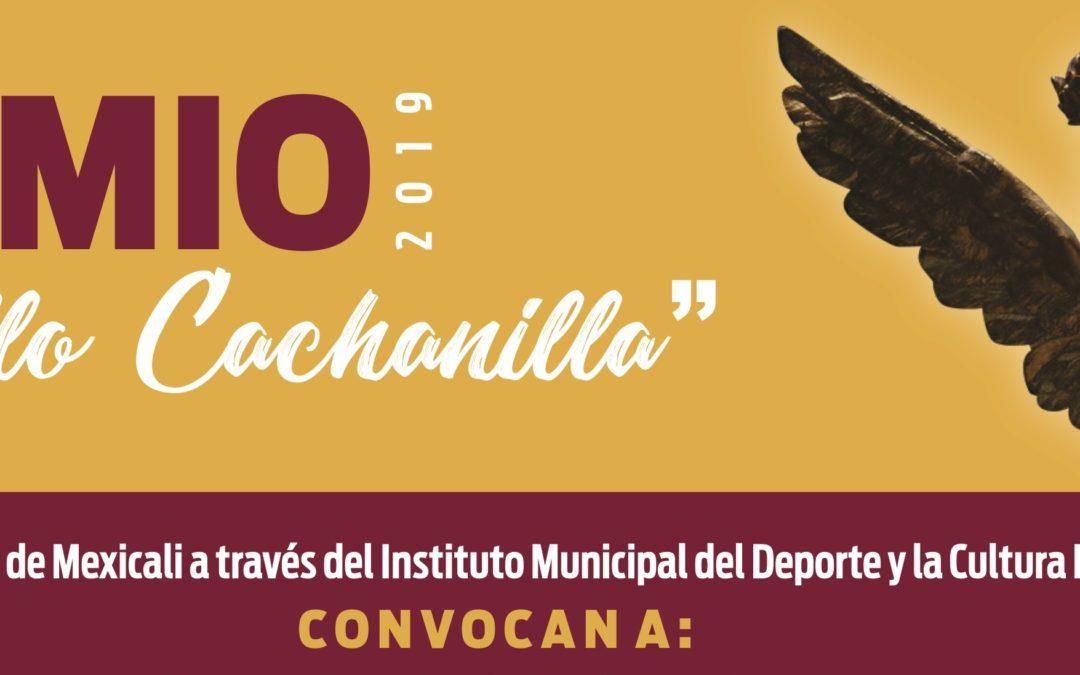 Convocatoria Premio Orgullo Cachanilla 2019.