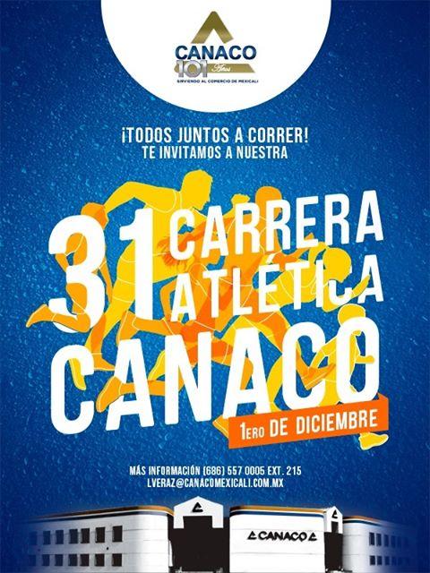 31 Carrera Atlética CANACO. (01/12/2019)